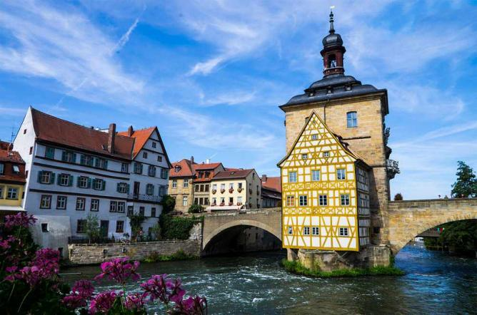 A view of Bamberg ©Tamcgrath/Wikicommons