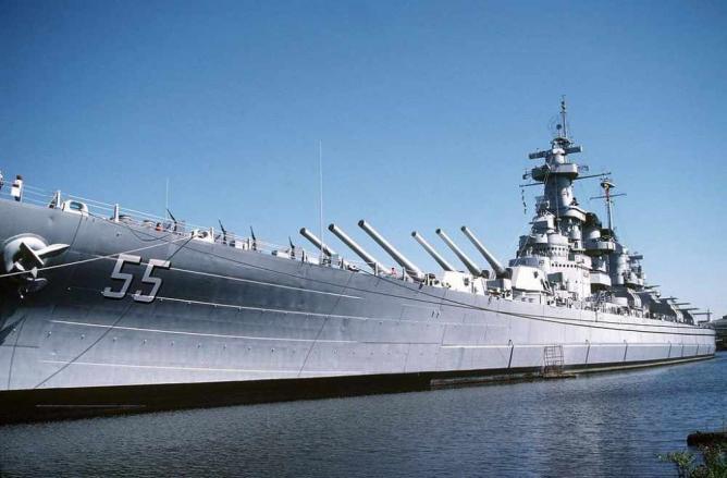 USS North Carolina   © Don S. Montgomery/WikiCommons