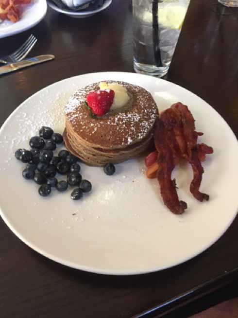 Cinnamon Buckwheat Pancakes | Courtesy of James Kerr