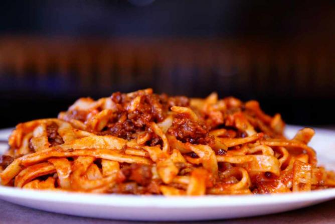 Pasta Bolognese (CC)   © Pink Sherbet Photography/Flickr