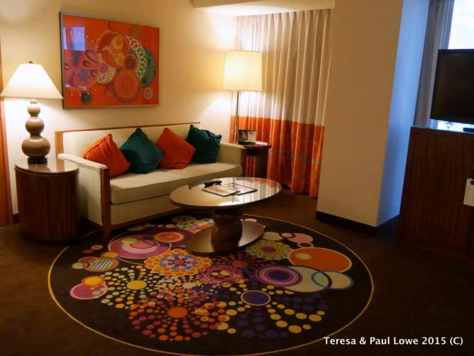 The Rio All Suite Hotel  stretch from a spacious 600-square-feet to whopping 13-thousand square feet.