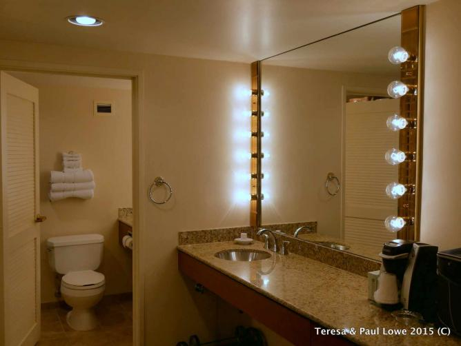 The Rio All Suite Hotel offers guests plenty of vanity space to get ready for a great night out!