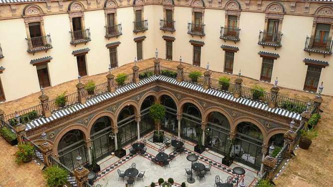 the 10 best hotels in seville spain. Black Bedroom Furniture Sets. Home Design Ideas