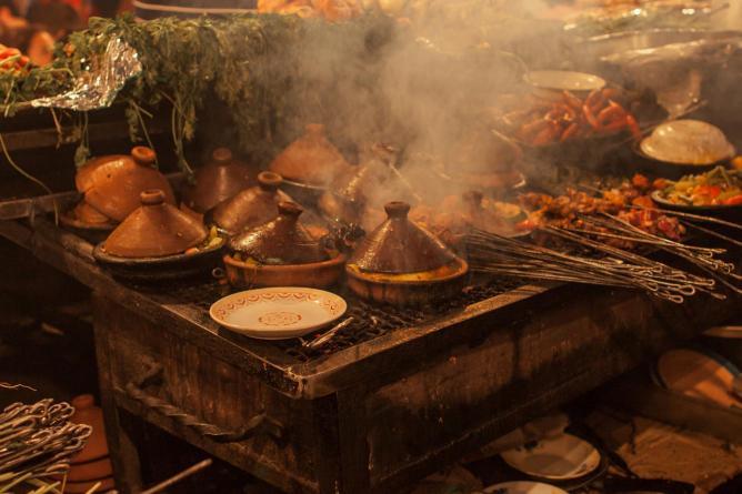 The best moroccan restaurants in casablanca for Conception cuisine casablanca