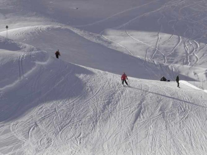 Skiing in Val d'Isère