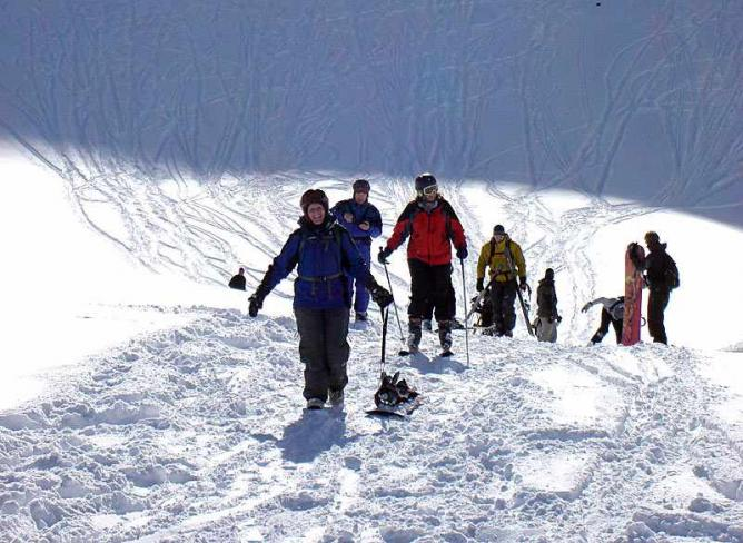 Off-piste in Val d'Isère