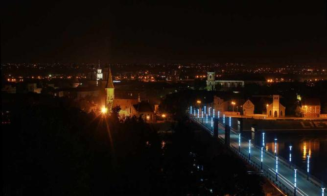 Kaunas from above