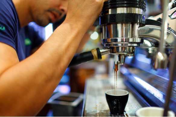 Espresso Drip | Image courtesy of Sweetleaf Coffee & Espresso Bar