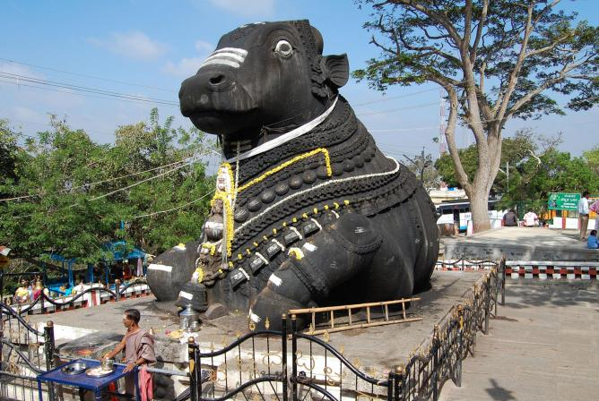 Nandi, the Bull, Chamundi Hill