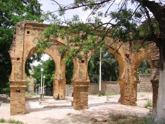 L'entrée de Sidi Boumediene