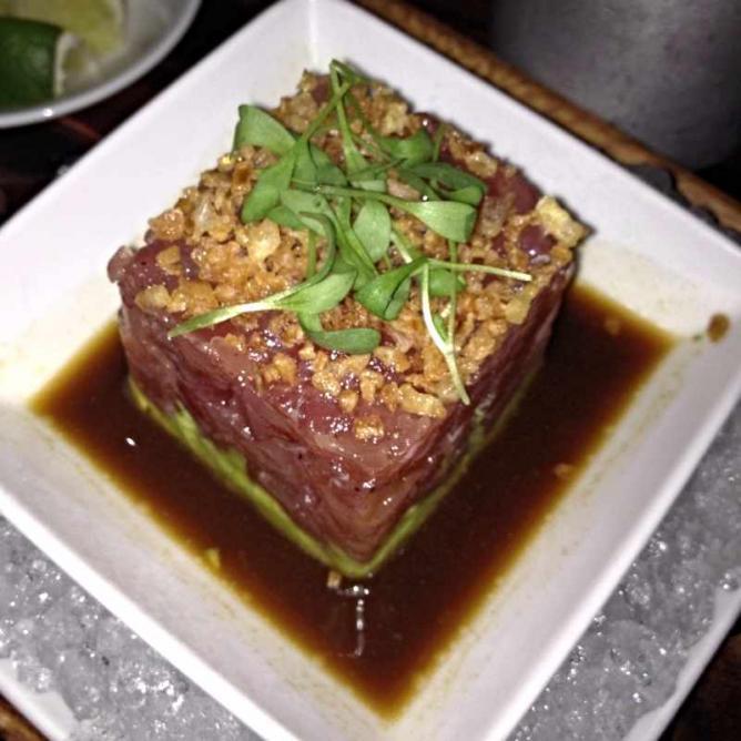 Tuna Tartare at BLT Steak Bistro