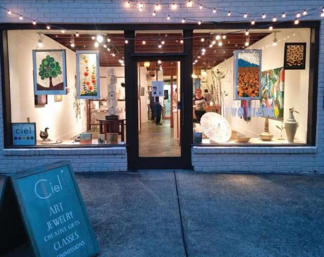 Exterior Gallery / Courtesy of Ciel Art Collective