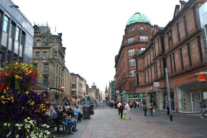 Argyle Street, Glasgow | © Postdlf/WikiCommons