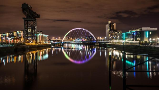 Glasgow by night | © Giuseppe Milo/Flickr