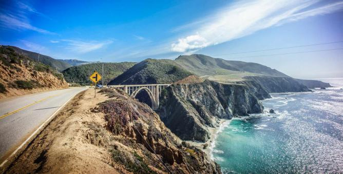 Bixby Bridge on Highway One | © Giuseppe Milo/Flickr