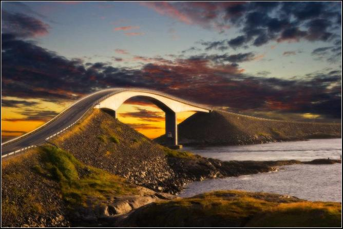 The Atlantic Road, Norway | © Marino Olivieri/Flickr