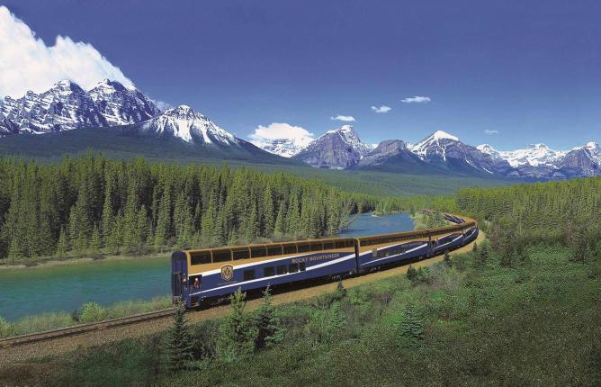 First Passage to the West | Courtesy Rocky Mountaineer