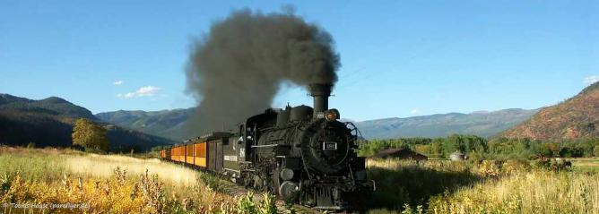Durango & Silverton Narrow Gauge Railroad | © Tobias/Flickr