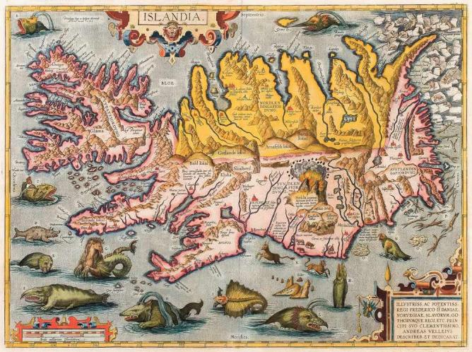 16th Century map of Iceland | Public Domain/WikimediaCommons