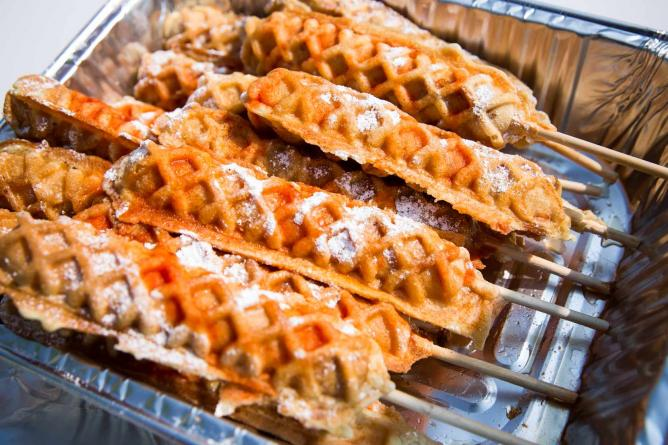 Chicken Waffle on a Stick | Courtesy of Canadian National Exhibition