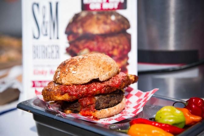 Corrado's S&M Burger | Courtesy of Canadian National Exhibition