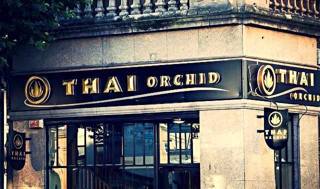 Exterior of the Thai Orchid