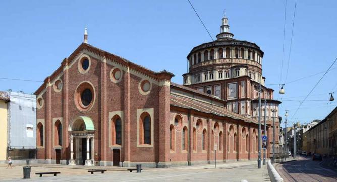Santa Maria delle Grazie, Milan, Italy