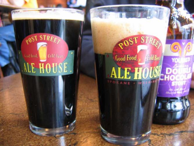 Stouts at Post Street Ale House