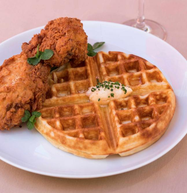 Chicken and Waffles | © 1313 Main