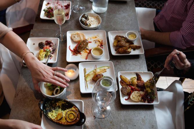 Variety of signature dishes at Enoteca | Courtesy of Enoteca