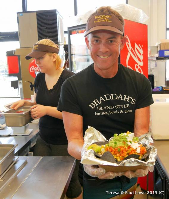 Slow-roasted, succulent meats are found in many of the dishes at Braddah's.