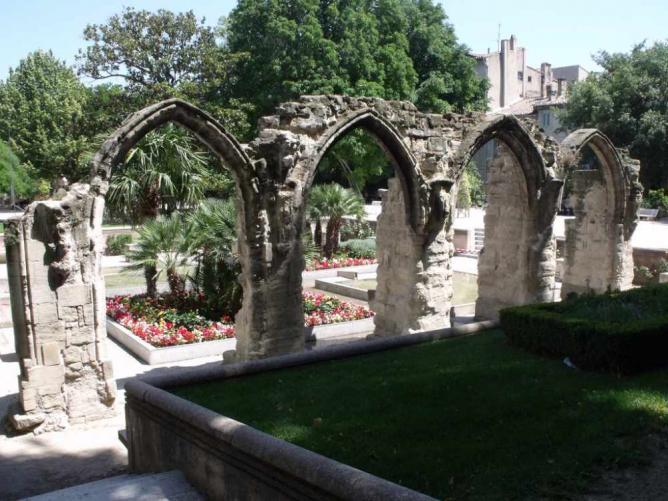 Saint-Martial ruins