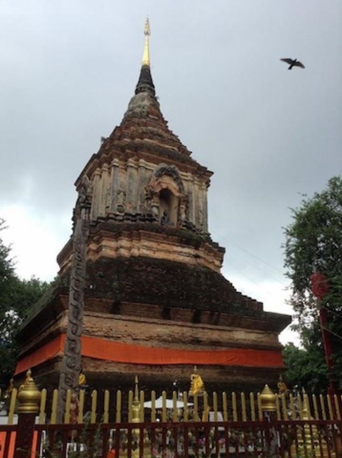 Wat Chedi Luang | Courtesy of Hannah Smith