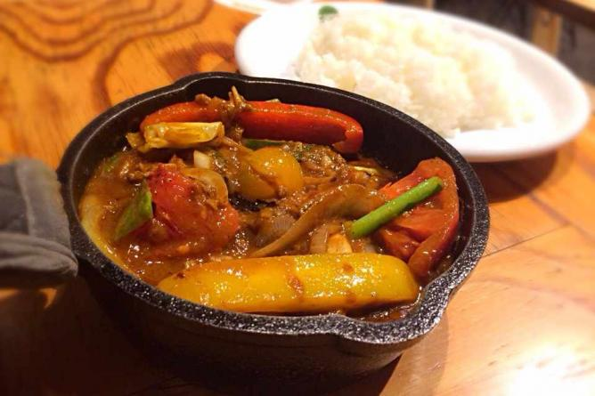 Vegetable Curry – Camp