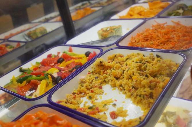 Vegetable buffet