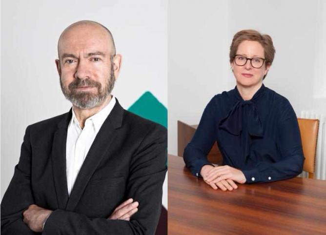 Jörg Johnen by Stefan Gräf; Esther Schipper by Andrea Rossetti Courtesy of Berlin Art Guide