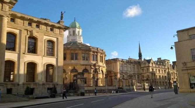 Broad Street in Oxford   © Courtesy of India Collins-Davies