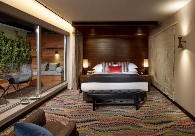 A sourced image: The Hospital Club, Bedroom Suite | Courtesy of The Hospital Club