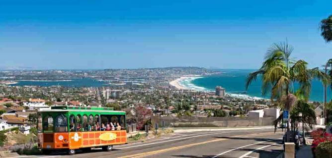 Old Town Trolley's La Jolla and Mission Beach Tour