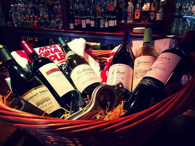 Wine Bottles | Courtesy of Victoria Gastro Pub