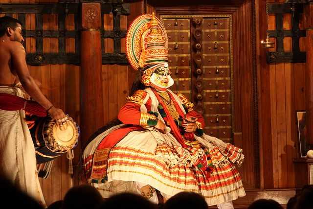 Kochi, Kathakali performance   © Arian Zwegers/Flickr