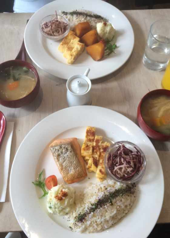 Traditional Japanese weekend breakfast at Cibi | © Annie-Mei Forster