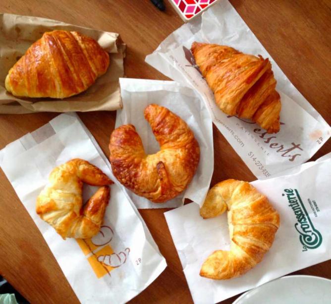 Croissants   © Anna Daneau