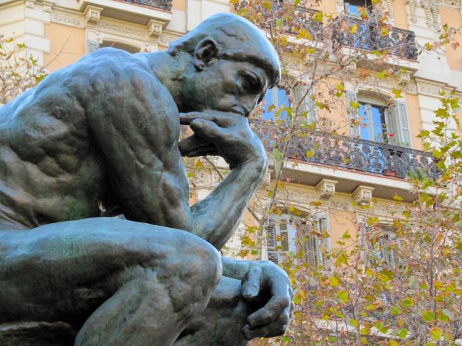 The Thinker   © Ed Menendez/Flickr
