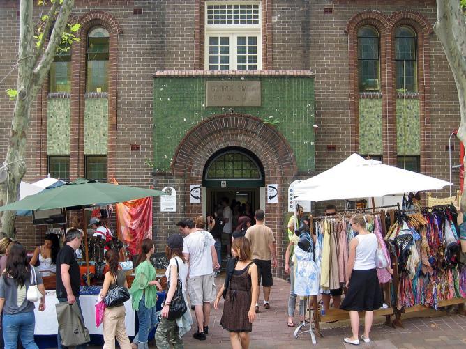 Paddington Markets © Nelson Minar/Flickr