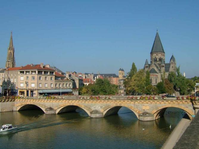 Metz   © Sebcaen/WikiCommons