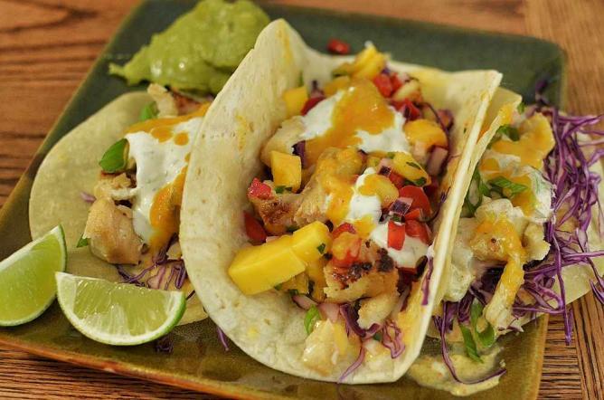 Mmm... fish tacos | ©jeffreyw/Flickr