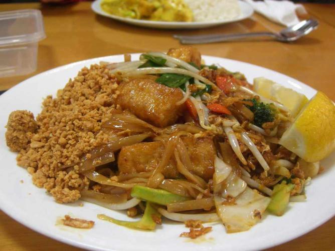 Pad Thai Vegetarian - Spicy Noodle | © Alpha/Flickr