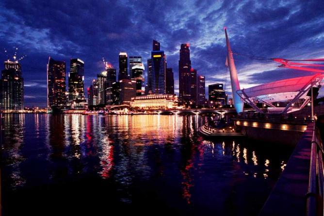 Singapore City Skyline | © Nicolas Lannuzel/Flickr