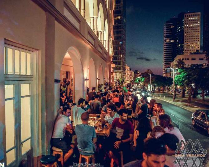 Friday night: Casa Veranda